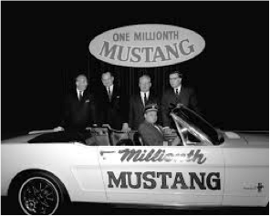 1,000,000th Ford Mustang