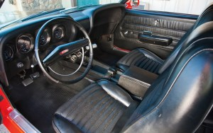 1969 Ford Mustang Boss 302 - interior