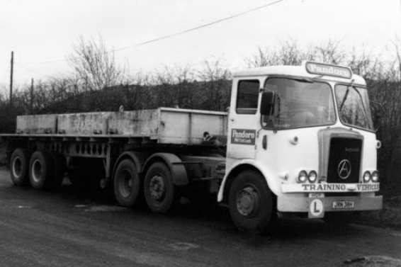 The HGV test became compulsory for drivers of heavy good vehicles in Britain.