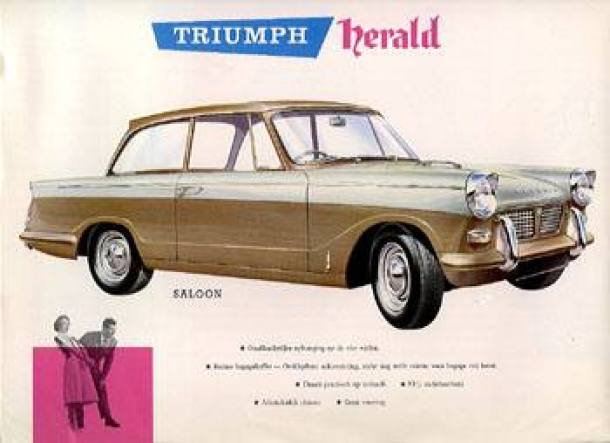 Triumph introduced the Herald.