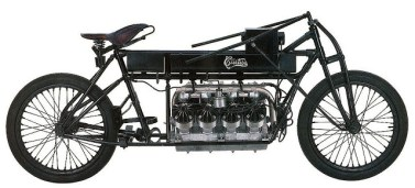 Curtiss V8 - World's Fastest Motorcycle - 1907