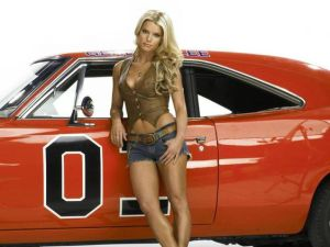 Daisy Duke - Dodge Charger