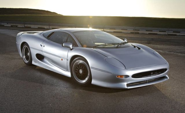Jaguar launched the XJ220.