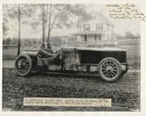 Whistling Billy' steam car