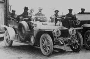 Rolls Royce Silver Ghost at Cat and Fiddle Hill during the Scottish Reliability Trial 1907