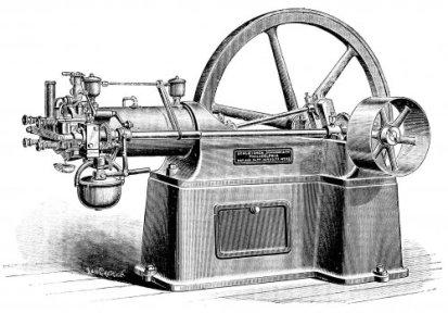 A 1880s era American Otto Engine for Stationary Use