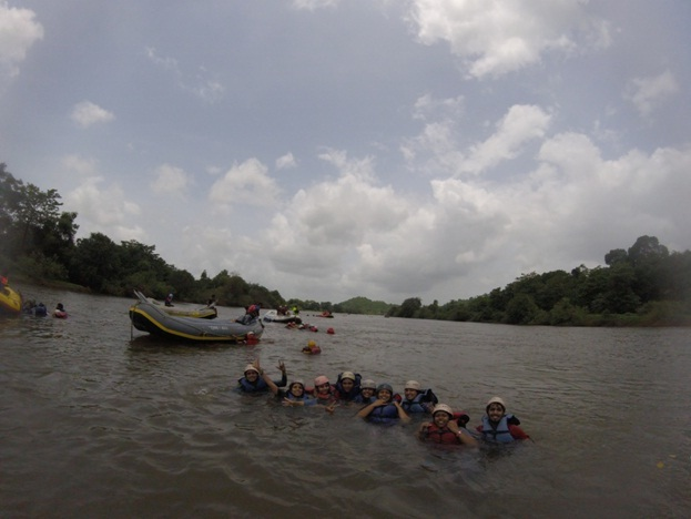 Rafting in Kolad River