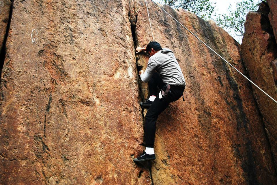 Rock Climbing in delhi india 5