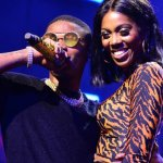OMG!! Wizkid Grabs Tiwa's Buttocks Again On Stage (SEE VIDEO)