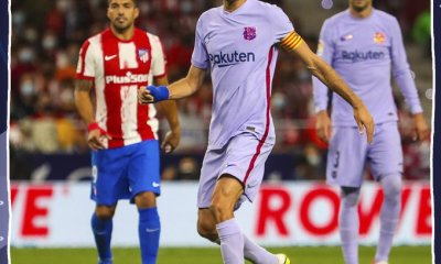 Atletico Madrid vs Barcelona Highlights