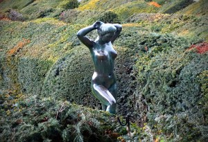 Naked lady!
