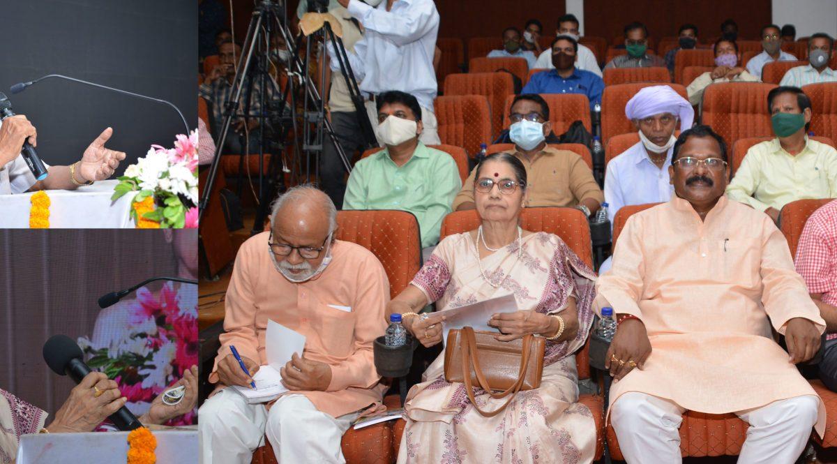 रायपुर :  डॉ. खूबचंद बघेल की 121वीं जयंती पर व्याख्यान-संस्मरण कार्यक्रम संपन्न :  समतामूलक समाज के प्रणेता थे डॉ. खूबचंद बघेल : वक्ताओं ने कहा