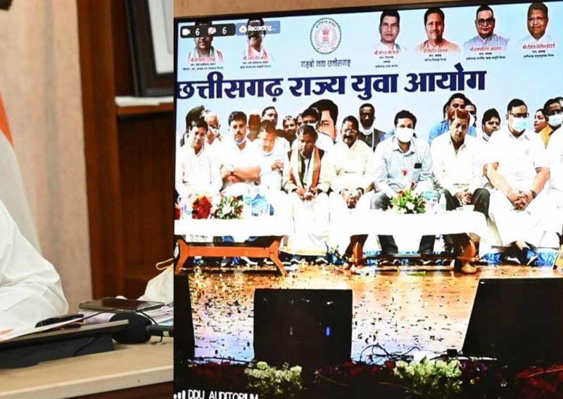 रायपुर : नवा छत्तीसगढ़ के निर्माण में होगी प्रदेश के युवाओं की महत्वपूर्ण भूमिका :  मुख्यमंत्री श्री भूपेश बघेल