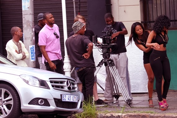 Sean Tizzle BTS Photos 6