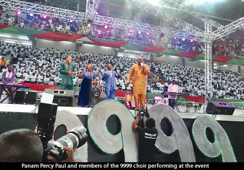 Ozara gossip: Akwa ibom choir, Guinness book of record, Largest Number of Christmas Carol Singers