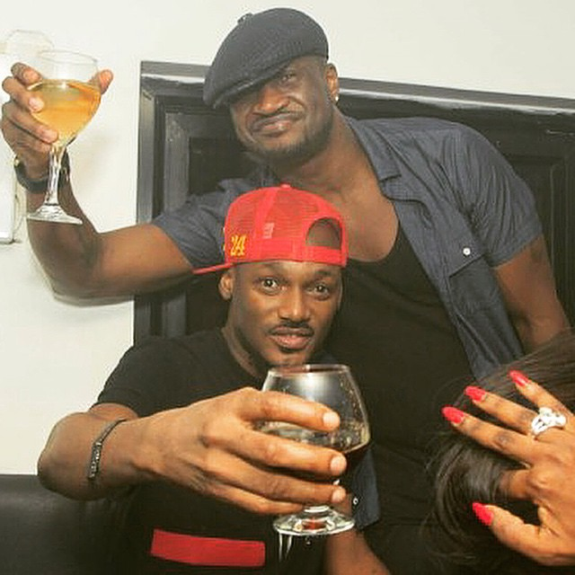 2face and peter okoye
