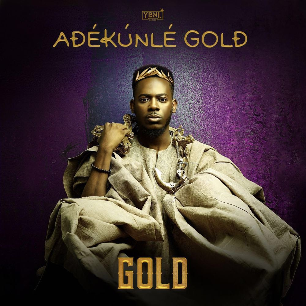 Adekunle Gold Unveils Album Cover & List Of Tracks