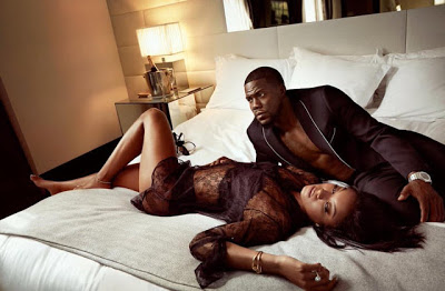 Kevin Hart & His Wife Eniko Hart Stunning In New Bedroom Photos  (1)