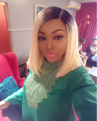 Mercy Aigbe-Gentry & Her Gorgeous Body Slay In Green Outfit (1)