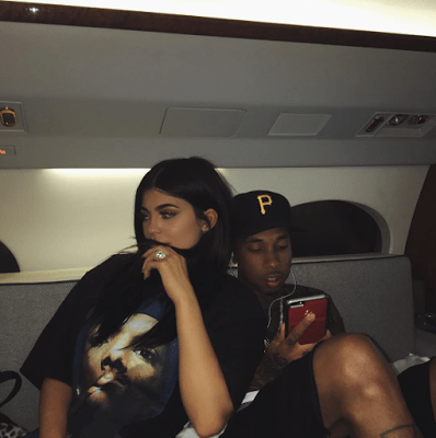 Tyga & Kylie Jenner Loved Up In New Photos (Peek) (3)