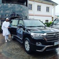 Like Otedola! E-Money Shows Off His 'Simple' Mobile Phones