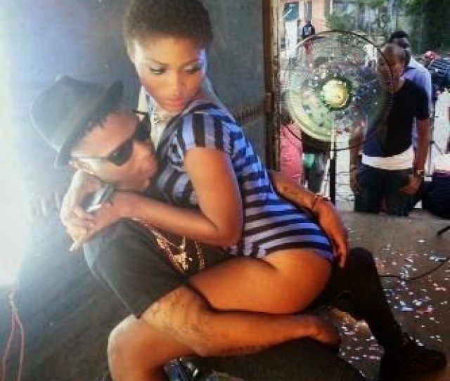 An Uncut Behind The Scenes Photo Starring Wizkid Has Found Its Way To The Internet