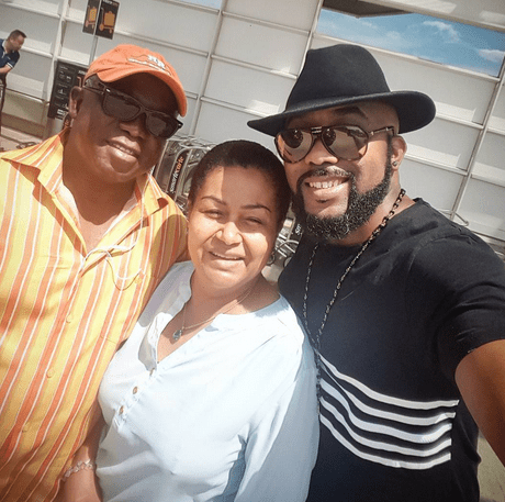 Image result for Banky W parents