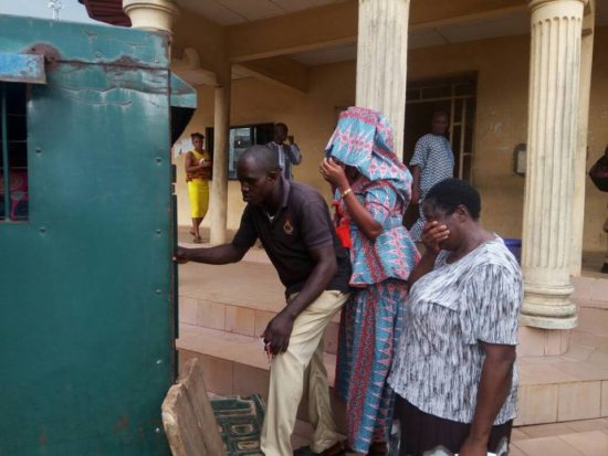 ub1 - NEWS: ₦85.8M Fraud: Former Bank Manager In Tears As She's Remanded In Prison (Photos)