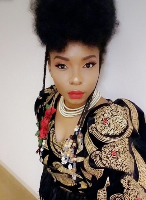 Entertainment Fashion Beauty Yemi Alade Shows Off Her