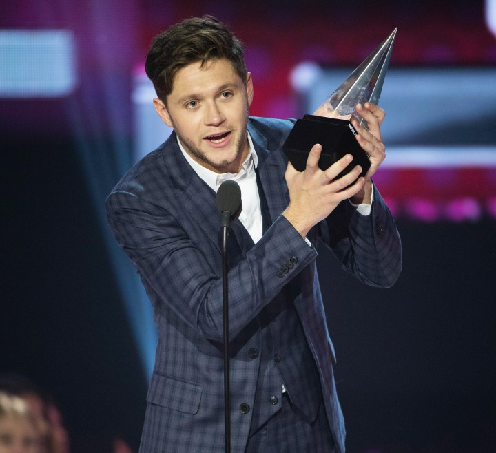 niall horan - American Music Awards 2017: Full List of Winners