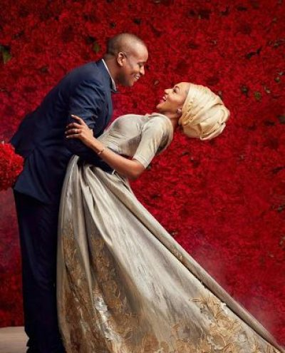 "You complete me"" – Zahra Buhari-Indimi praises Husband Ahmed on First Year  Anniversary   36NG"