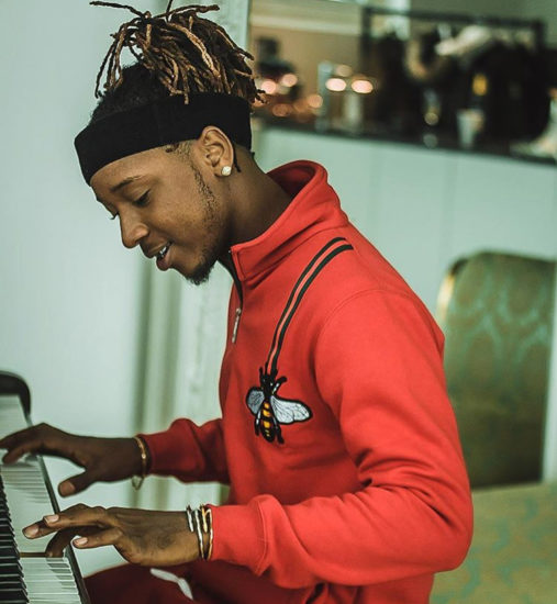 Yung6ix Gets A Huge Tattoo In Solidarity With Manchester United (Photo)