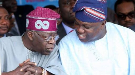 Image result for 'I have forgiven Ambode but my supporters don't want his 2nd term' – Tinubu