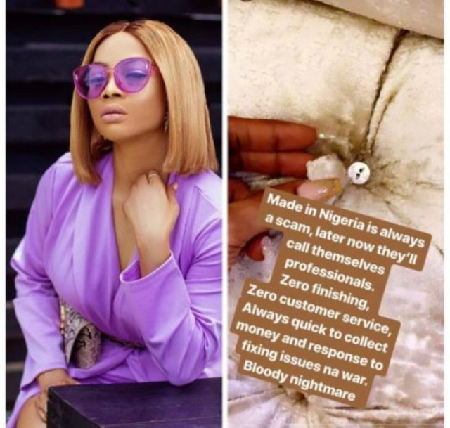 Anything Made In Nigeria Is always A Scam - Toke Makinwa