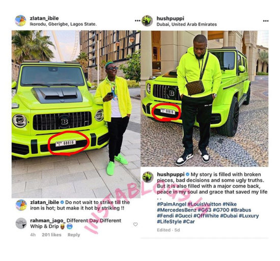 "Here's Why Zlatan Ibile, Hushpuppi And ""Neon Brabus"" Are Trending Online!"
