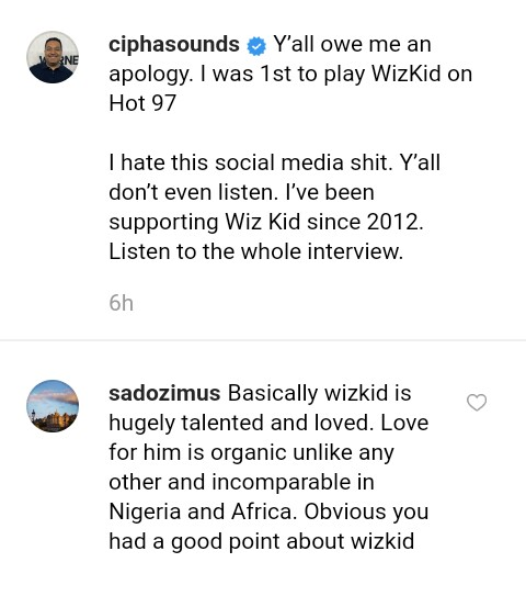 You All Owe Me Apology, I Was 1st To Play Wizkid In US — American DJ Blasts Nigerians