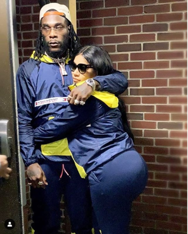 Stefflon Don Talk About Her relationship with Burna Boy