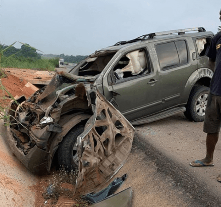 Yul Edochie Survives Serious Car Accident
