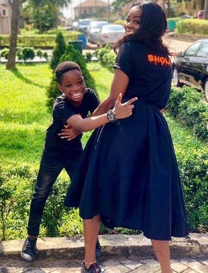 Wizkid's First Son, Boluwatife Bonding With His Mom (Photos)