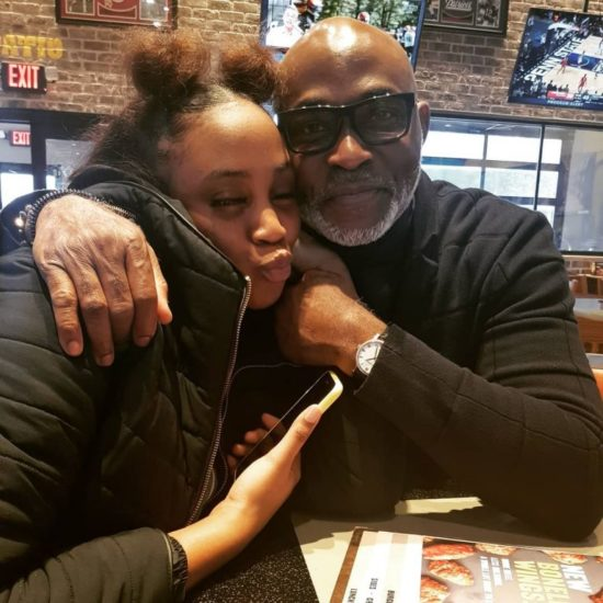 RMD all smiles with her daughter in rare photo 4