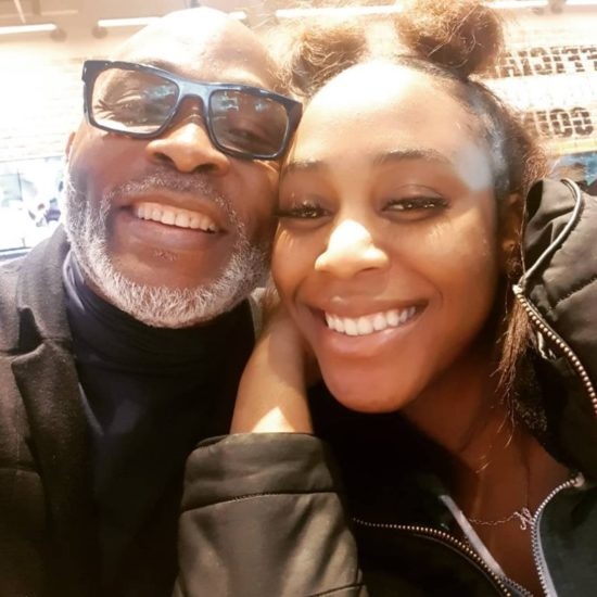 RMD all smiles with her daughter in rare photo 3