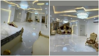 E-money shows off his golden bedroom in luxurious new home 2