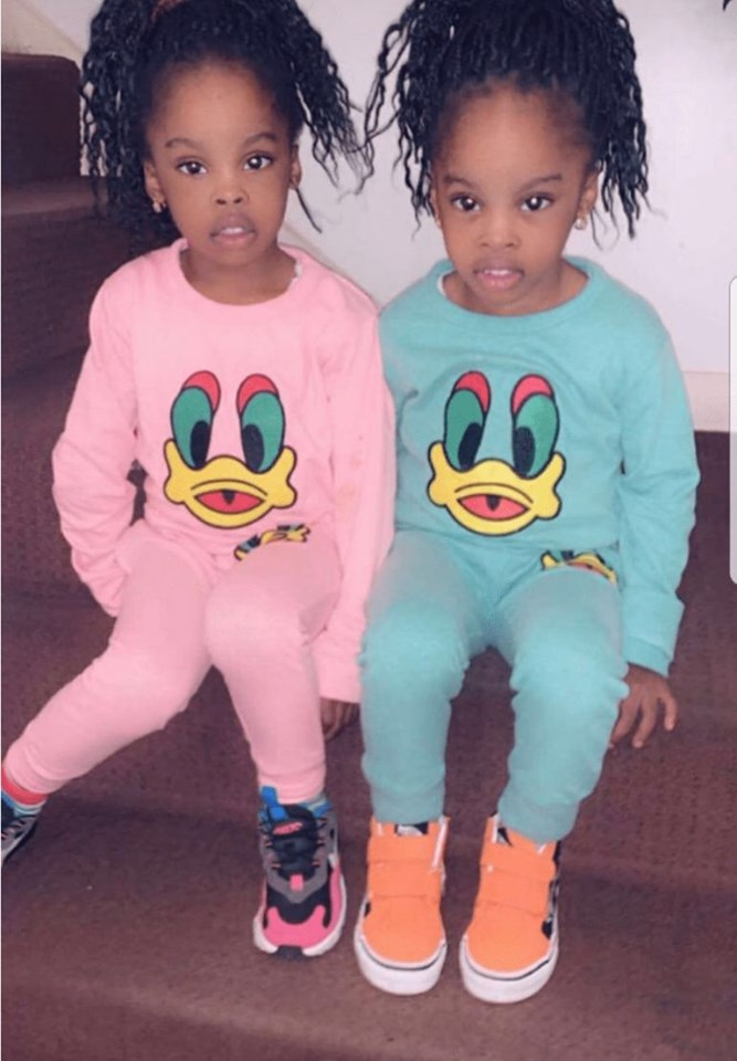 Naira Marley twin girls