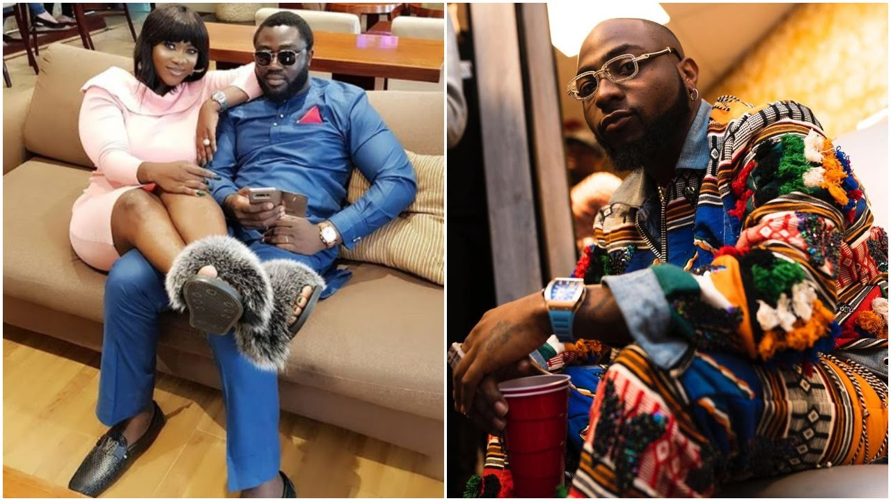 'Wicked people,' Davido says as he calls out Mercy Johnson-Okojie and her husband