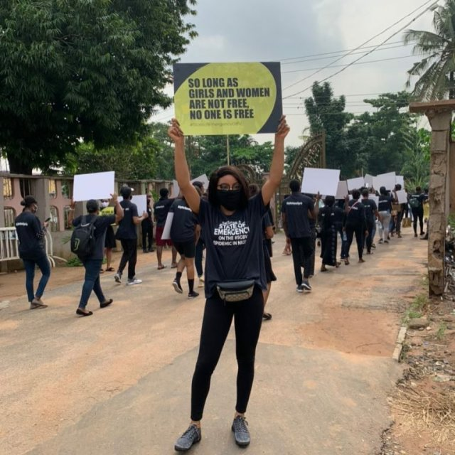Protesters March Against Sexual & Gender-Based Violence in Lagos & Abuja 2