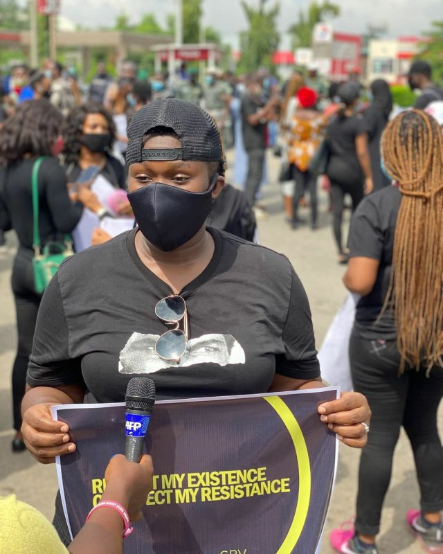 Protesters March Against Sexual & Gender-Based Violence in Lagos & Abuja 6