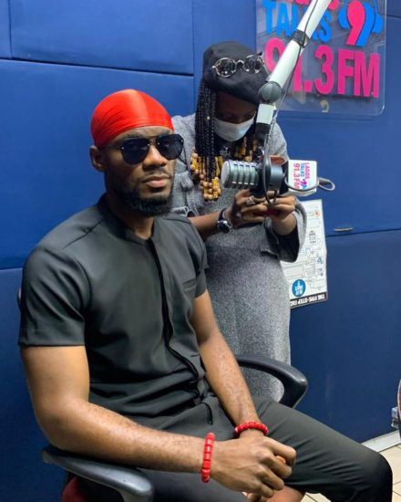 Photos from Kiddwaya and Prince' media tour in Lagos 3