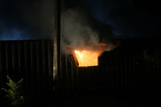 Ondo election: INEC office on fire, smart card readers burnt 3