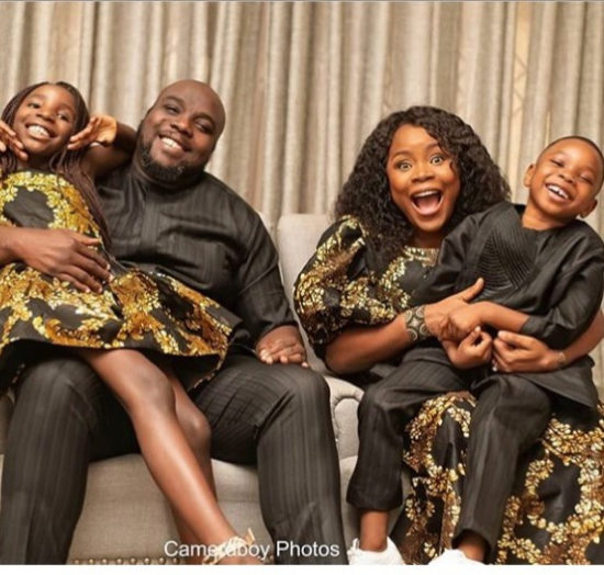 """""""I Usually Don't Do This"""" – Omawumi Shares Rare Photos Of Her Husband And Kids 1"""