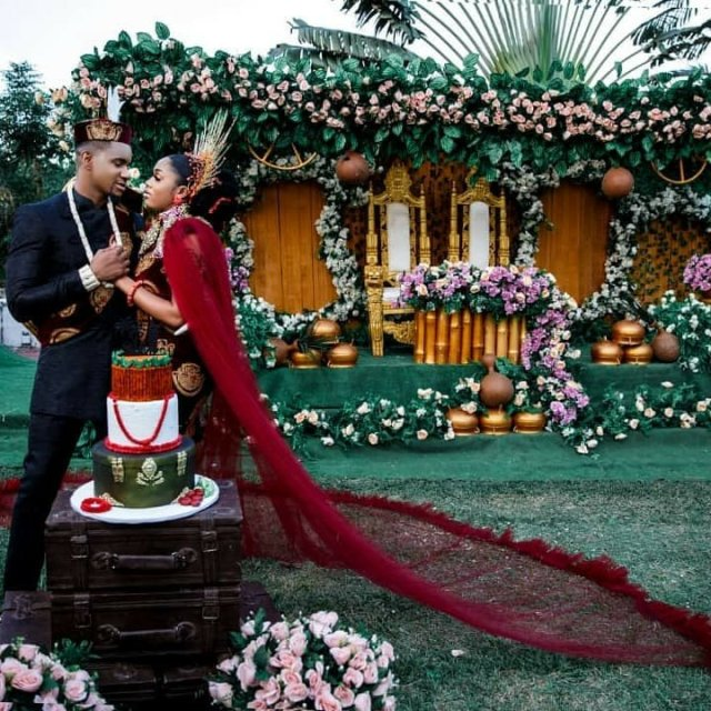 Photos: Living in Bondage actor, Jidekene Achufusi is now married 7